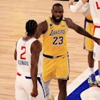 Lakers star LeBron James will not play against Rockets