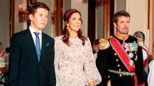 Princess Mary's son seen for the first time since catching Covid