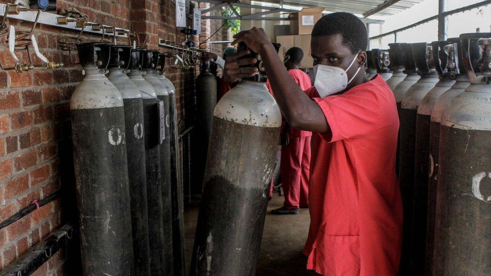 Africa's Covid patients 'dying from lack of oxygen'