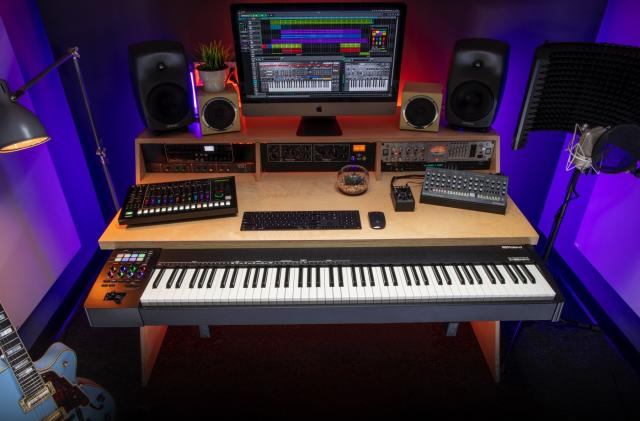 Roland's A-88MKII keyboard embraces MIDI 2.0 and USB-C