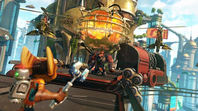 'Ratchet & Clank' for the PS4 looks like more than a remake