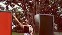 Aos 56 anos, Luiza Brunet entra para faculdade nos Estados Unidos