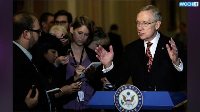 Reid Sets In Motion Steps To Limit Use Of Filibuster