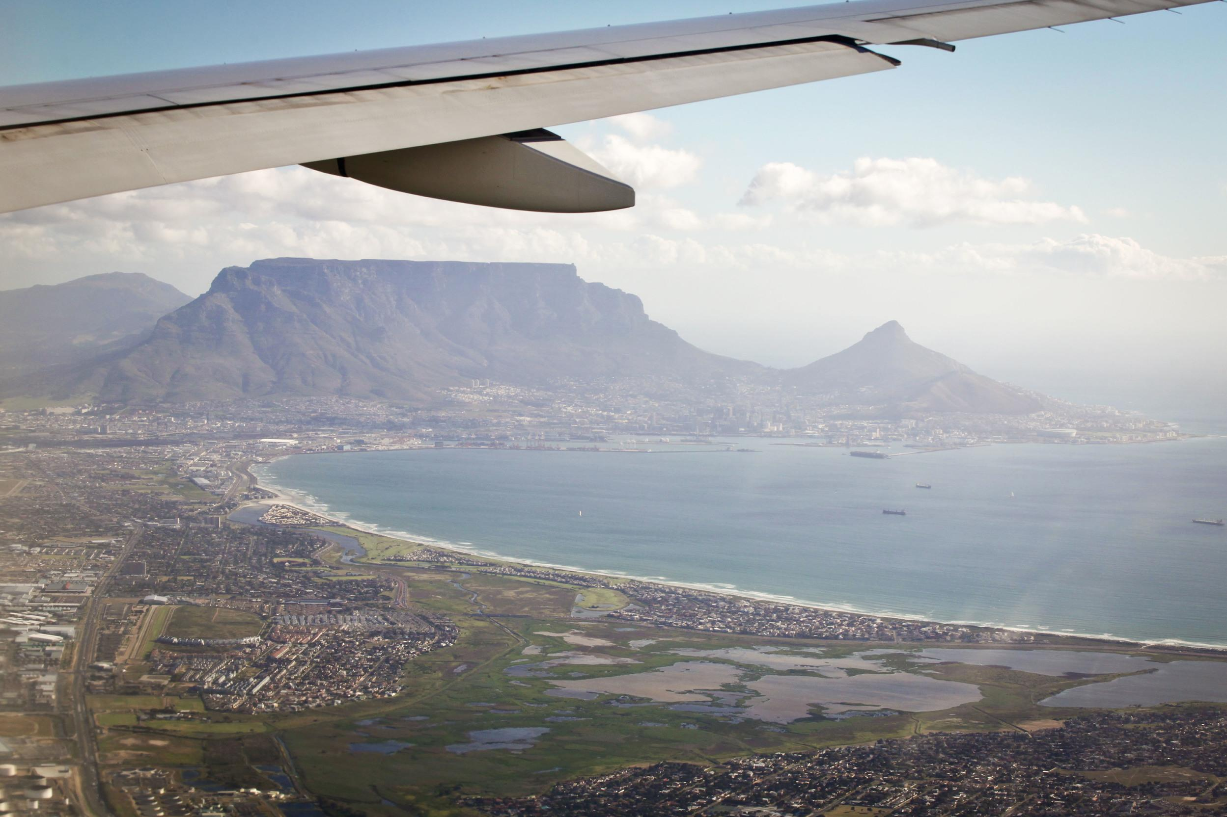 """""""Flying in to see such a great landmark like Table Mountain as well as the beautiful city of Cape Town makes this airport approach truly one-of-a-kind."""""""
