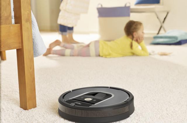 The Roomba 960 is iRobot's cheaper app-driven robot vacuum