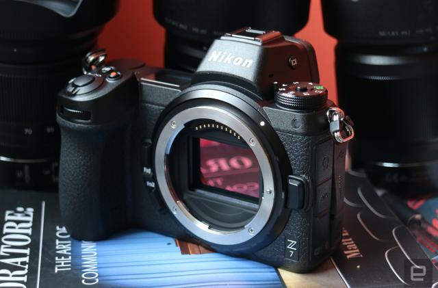 Nikon's Z7 mirrorless camera is a full-frame 45.7-megapixel beast