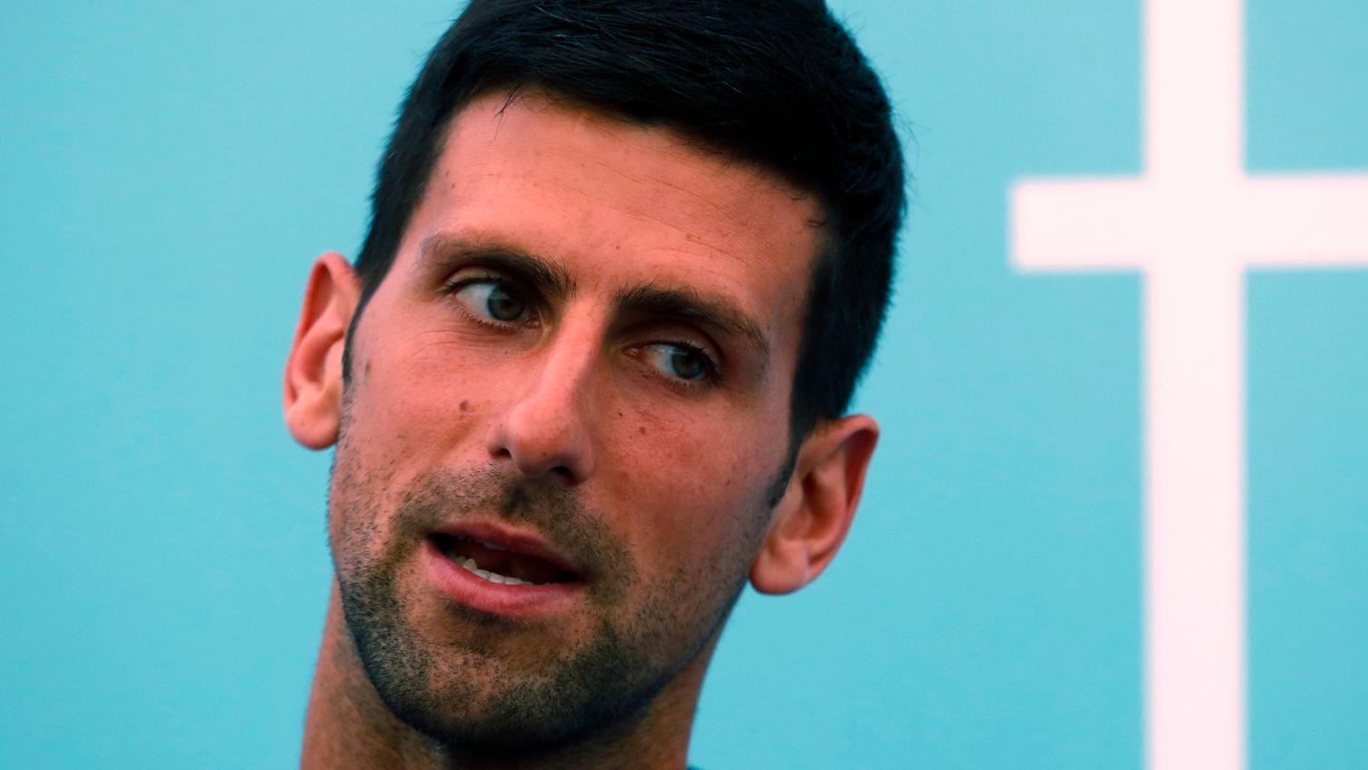 Novak Djokovic Defends Packed Stands At Charity Event