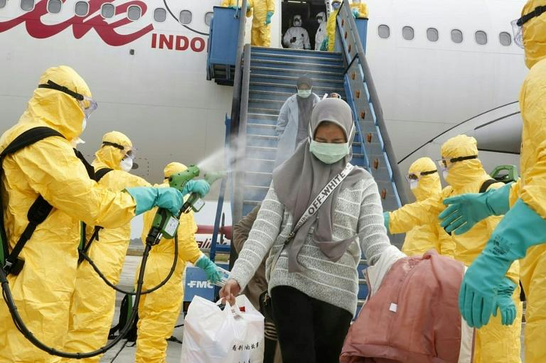 Indonesia evacuates 238 citizens from virus-stricken Wuhan