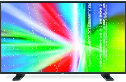 NEC's 20 series LCDs: perfect for digital signage
