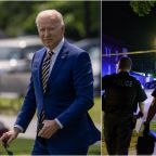 Dozens shot across US in weekend of violence as Biden prepares to launch his anti-crime policy this week