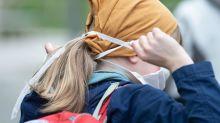 Corona-Krise: Berlins Schüler müssen mit Masken in die Schule