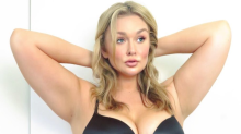 Curvy model Hunter McGrady calls out Victoria's Secret: 'We all have wings of our own'