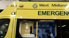 Teenager vandalises ambulance as paramedics treat patient inside