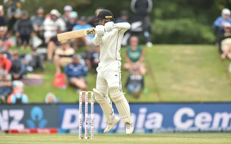 New Zealand's Tom Blundell scored 55 in the second innings (AFP Photo/PETER PARKS)