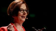 Julia Gillard says her government's carbon price proves climate policy isn't 'all too hard'