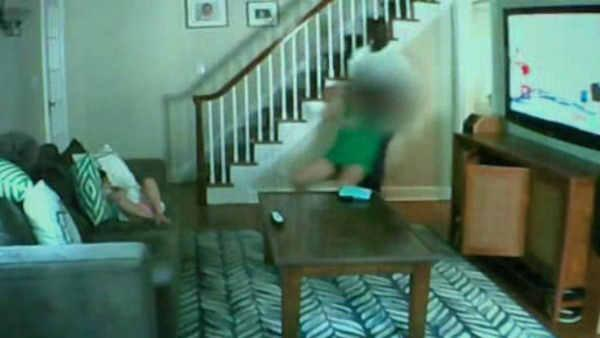 New Jersey home invasion caught on nanny cam