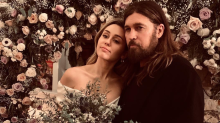 Billy Ray Cyrus didn't break Miley's achy breaky heart: Despite reports, he was at her wedding