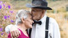 Juntos há 70 anos, casal faz ensaio fotográfico para celebrar a união