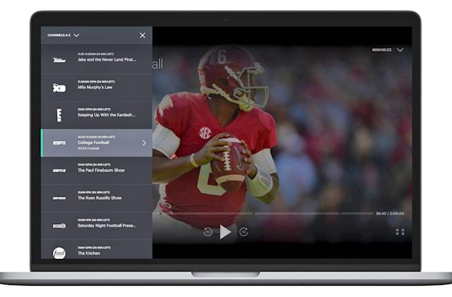 Hulu makes it easier to find what's on its live TV service
