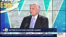 Christine Lagarde a raison de s'interroger sur la politique de la BCE, estime Jean-Claude Trichet