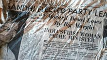 Alpine melt yields old India headlines: Indira Gandhi is PM