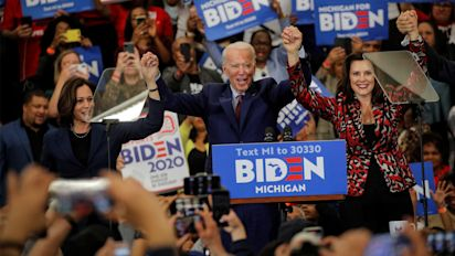 Who is on Biden's vice president shortlist?