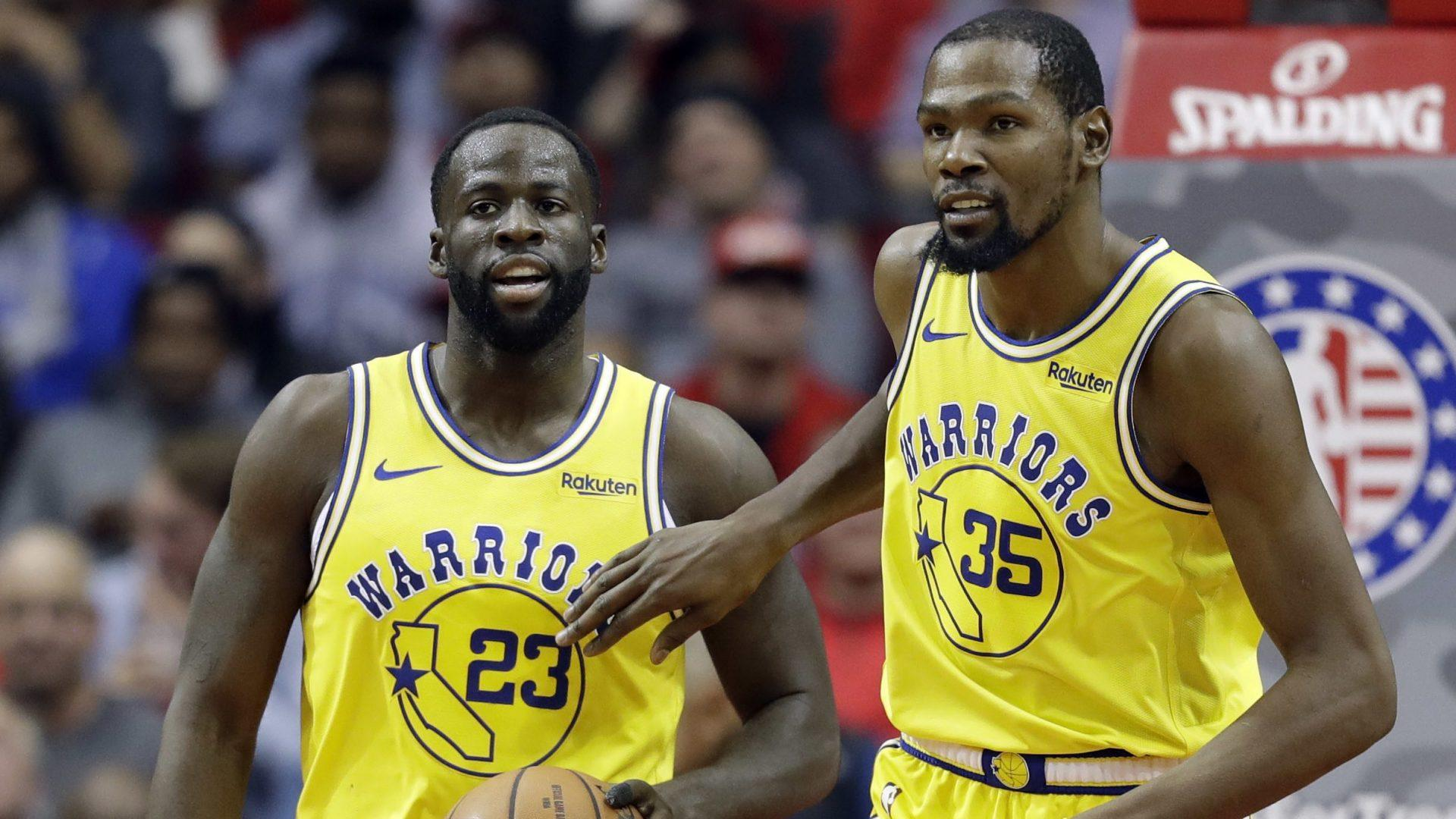"""Draymond Green on Kevin Durant: """"If he go, he go. If he stay, he stay,"""" focus is on title"""