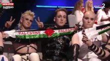 Eurovision 2019 : les Islandais agitent des écharpes aux couleurs de la Palestine et se font huer (vidéo)