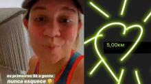 Marília Mendonça rebate seguidor que a criticou após corrida