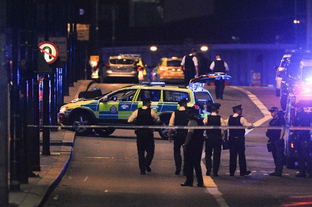 The attack on Saturday night is the third to hit Britain since March (AFP Photo/DANIEL SORABJI )