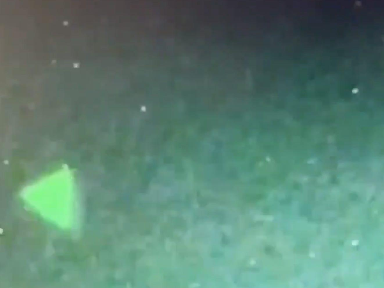 The Pentagon confirmed that a video showing a triangular UFO is real and taken by the US Navy