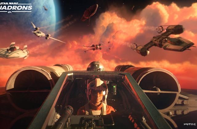 'Star Wars: Squadrons' will let you pilot an X-wing in VR