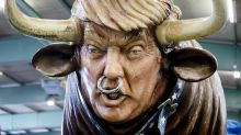 How the world mocks Trump in protest art