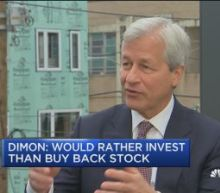 JP Morgan's Dimon: I'd rather grow our business than buy ...
