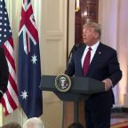 Trump says would be 'easiest thing' to go into Iran