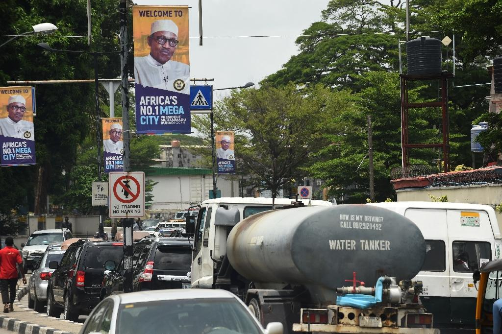 Lagos, a banking hub that is home to a burgeoning technology sector and countless start-ups, is the exception to the rule in Nigeria, which is struggling to recover from its first recession in 25 years (AFP Photo/PIUS UTOMI EKPEI)