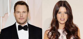 Is Chris Pratt dating Arnold's daughter?