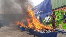Bea Cukai Banten musnahkan barang milik negara bernilai Rp13,8 miliar