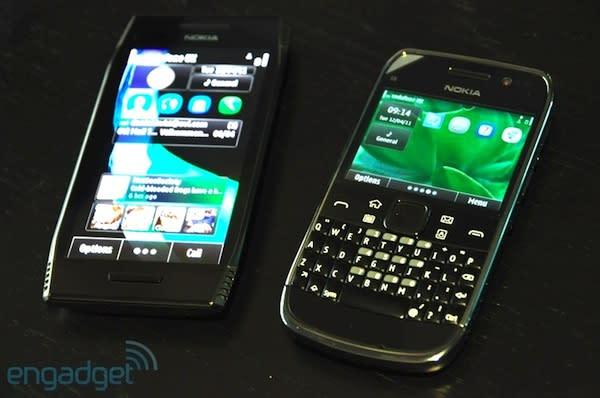 Nokia X7 and E6 Symbian Anna phones start shipping into obsolescence