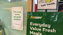 Subway Singapore stops serving pork at all outlets