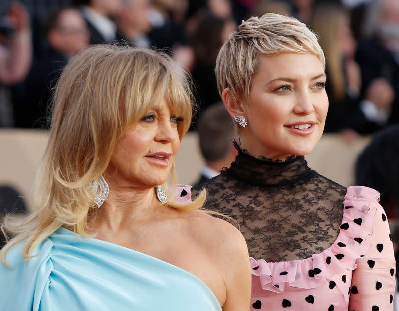 Goldie Hawn & Kate Hudson Make History With People Cover