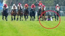 'Sickening': Champion jockey under investigation after tragic fall