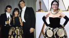Rita Moreno trägt ihr Oscar-Kleid von 1962 - und es passt immer noch