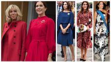 Princess Mary joins Brigitte Macron on glamorous tour of Denmark