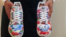 Une paire de baskets pourrait devenir la première à atteindre le million de dollars aux enchères