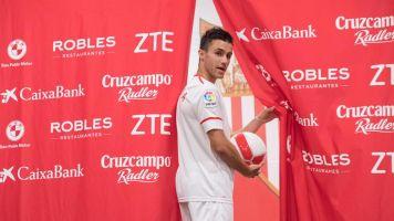Sevilla y Espanyol ultiman cesión al club catalán de lateral diestro Corchia
