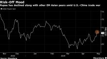 Rupee Forwards, Stock Futures Jump as Exit Polls Signal Modi Win