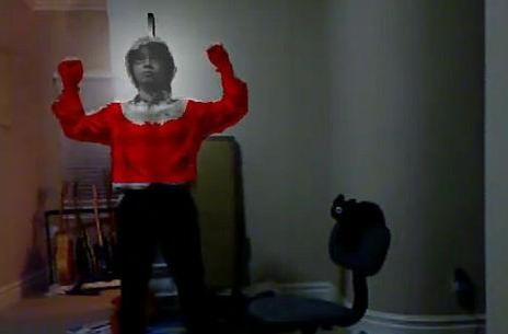 Kinect hack turns you into a superhero