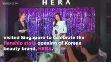 K-drama star Jun Ji-hyun in Singapore