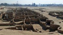 """Archäologe: Von antiker Stadt in Ägypten bisher nur """"ein Teil"""" freigelegt"""